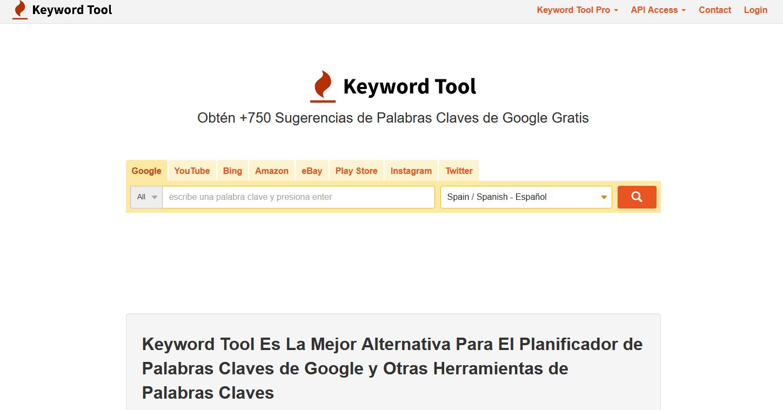 Alternativa GRATIS al Planificador de Palabras Claves (Google)
